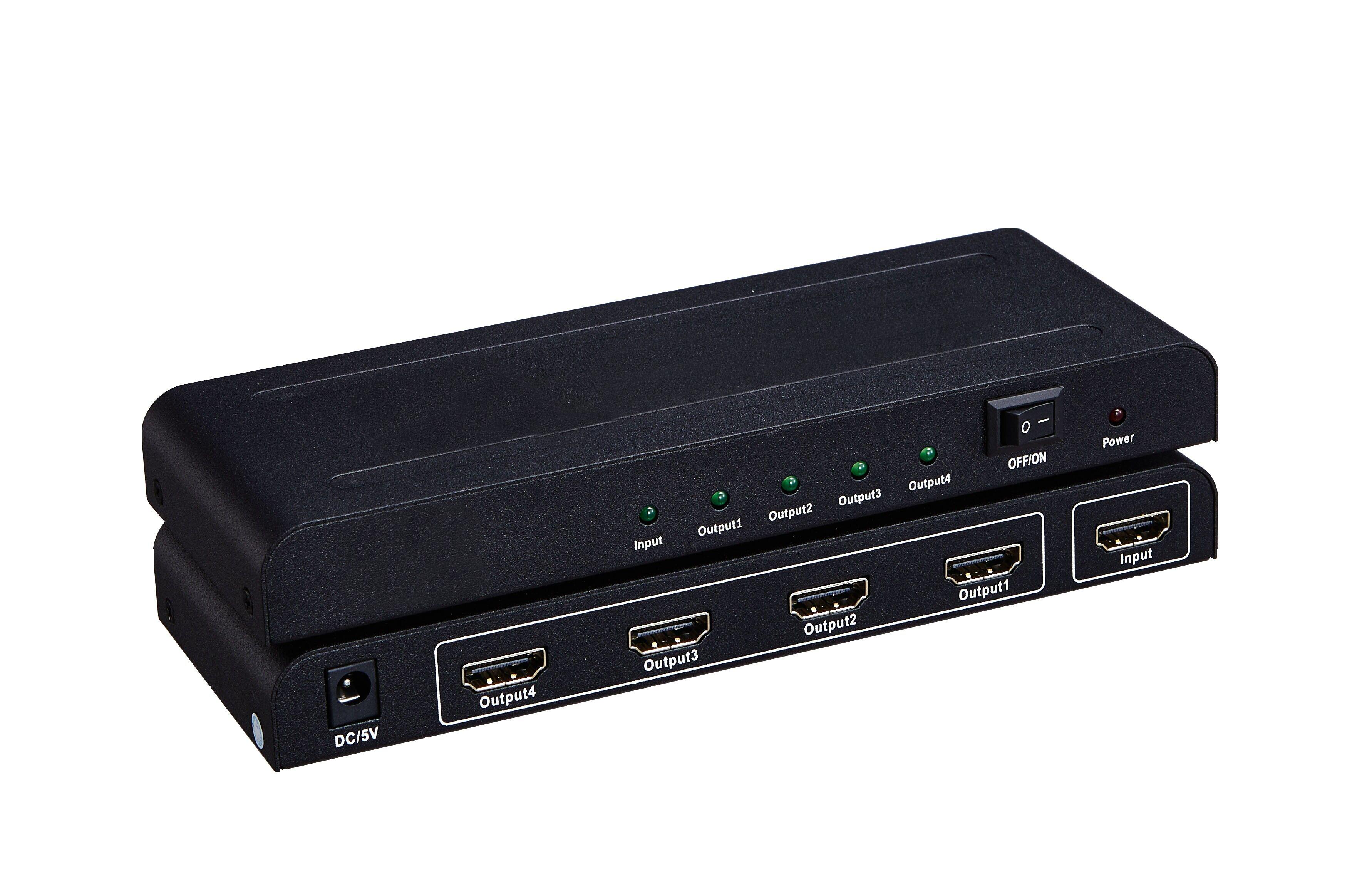 102108 HDMI V.1.4 Splitter 1x4
