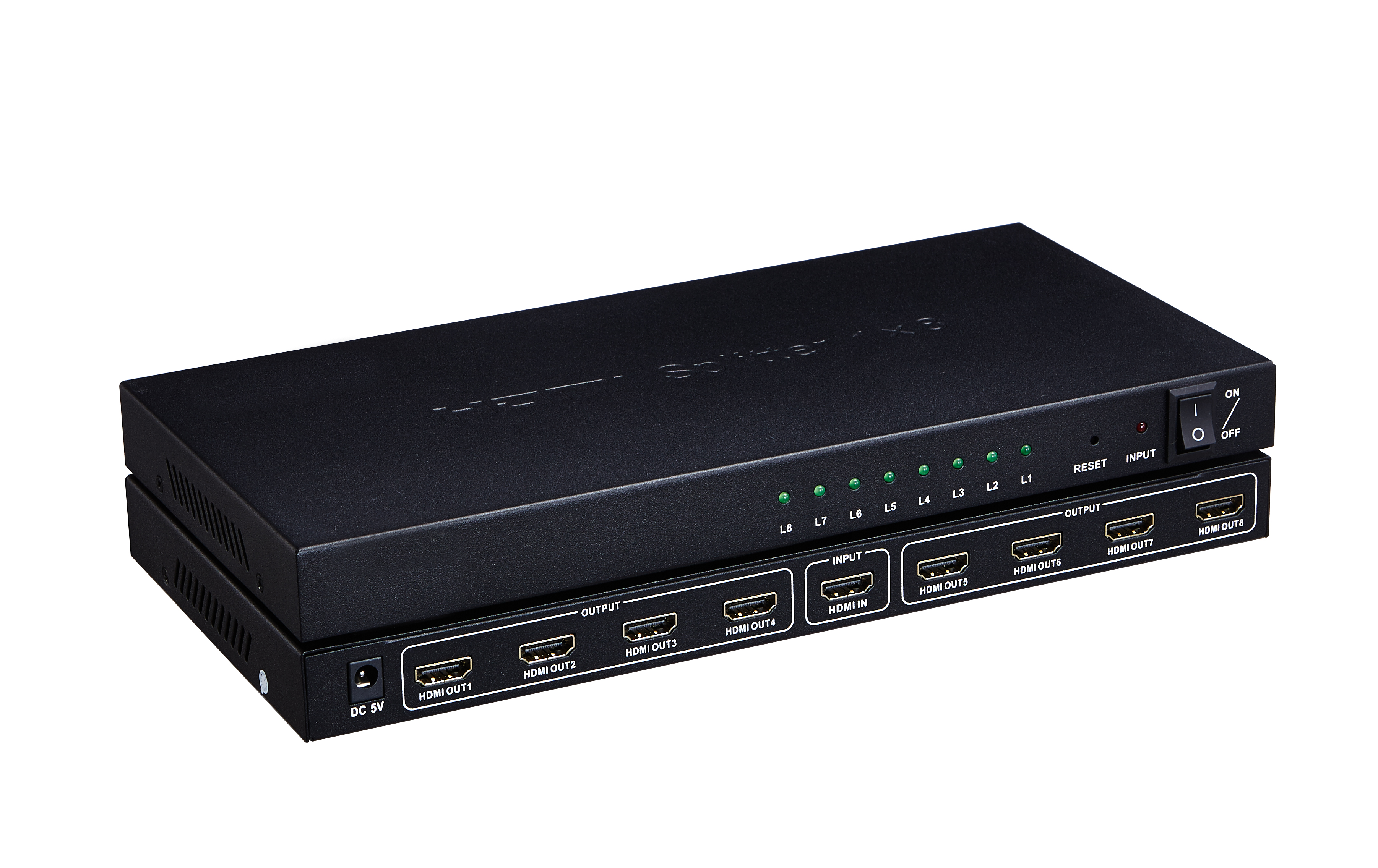 102109 HDMI V.1.4 Splitter 1x8