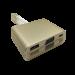 204202 TypeC to VGA+USB-A+USB-C